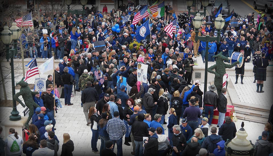 2015 VB Public Rally in Support of VB Police